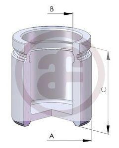 Поршень тормозного суппорта AUTOFREN SEINSA D02570