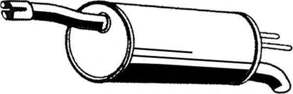 Глушитель ASMET 16.065