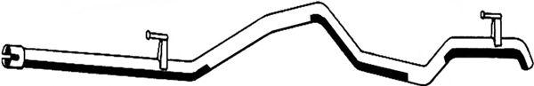 Труба выхлопного газа ASMET 02.032