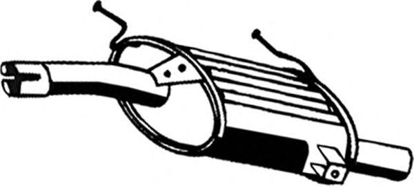 Глушитель ASMET 25.012
