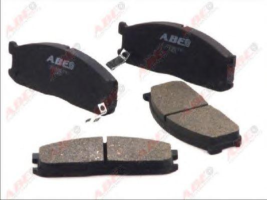 Тормозные колодки ABE C13025ABE