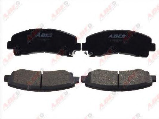 Тормозные колодки ABE C19014ABE