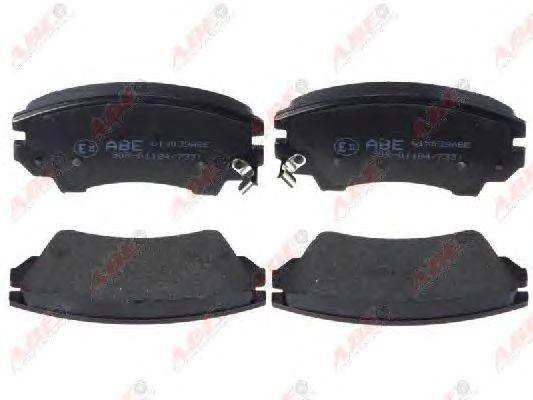 Тормозные колодки ABE C1X039ABE