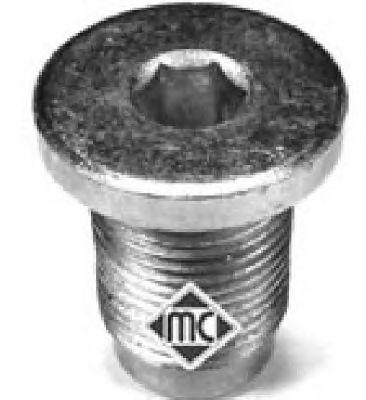 Пробка слива масла Metalcaucho 04062