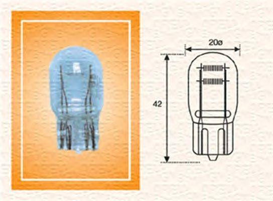 Лампа накаливания MAGNETI MARELLI 002052400000 (задний габаритный огонь, освещение щитка приборов)
