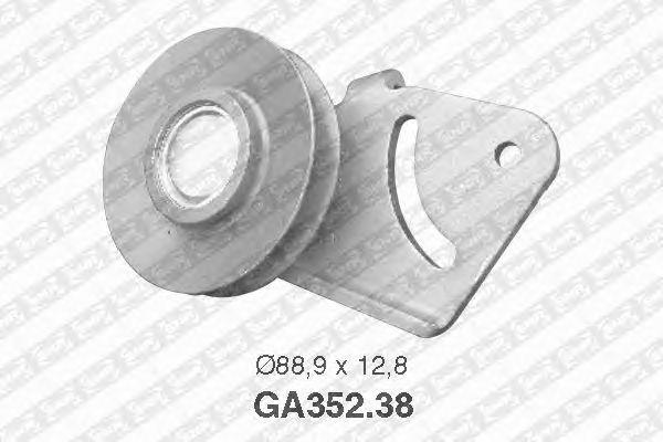 Натяжной ролик поликлинового ремня SNR GA352.38