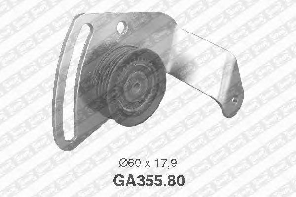 Натяжной ролик поликлинового ремня SNR GA355.80