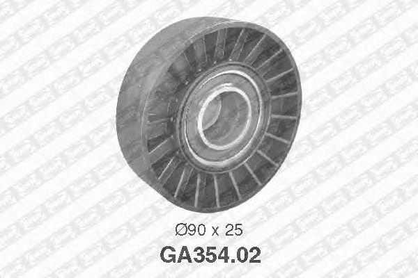 Направляющий / паразитный ролик  поликлинового ремня SNR GA354.02