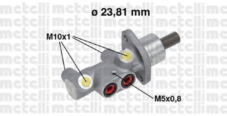 Главный тормозной цилиндр METELLI 05-0704