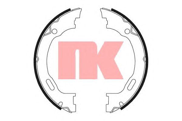 Тормозные колодки ручника NK 2733689
