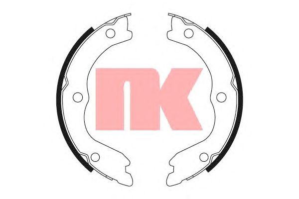 Тормозные колодки ручника NK 2722719