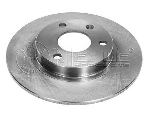 Тормозной диск MEYLE 11-15 521 0012