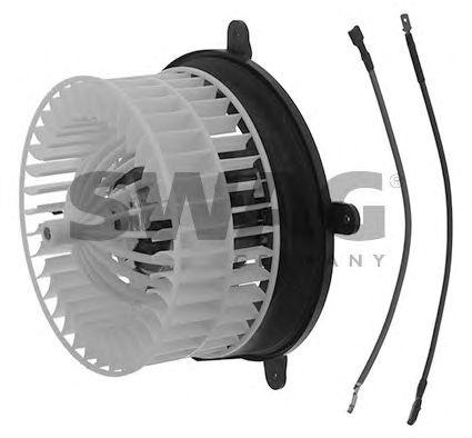 Вентилятор отопителя SWAG 10 93 8751