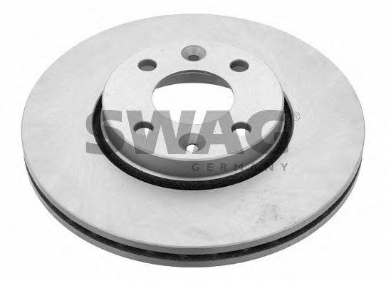 Тормозной диск SWAG 60 92 4165