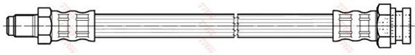 Тормозной шланг TRW PHB166