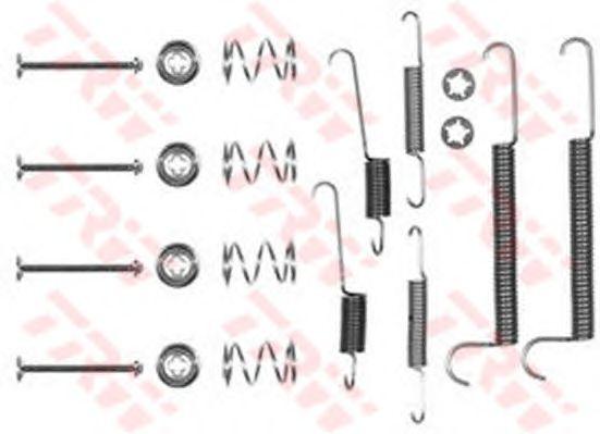 Монтажный комплект тормозных колодок TRW SFK117