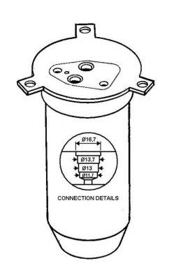 Осушитель кондиционера NRF 33072