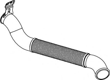 Труба выхлопного газа DINEX 68523