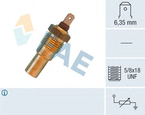 Датчик температуры охлаждающей  жидкости FAE 31690