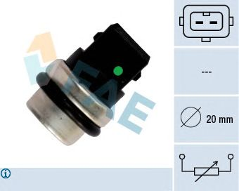 Датчик температуры охлаждающей жидкости (ДТОЖ) FAE 33620