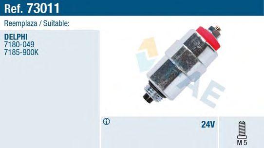 Клапан опережения впрыска FAE 73011 (электроклапан ТНВД)
