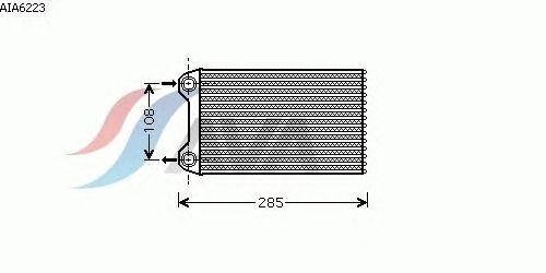 Радиатор отопителя AVA QUALITY COOLING AIA6223