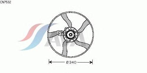 Вентилятор охлаждения AVA QUALITY COOLING CN7532