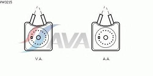 Масляный радиатор AVA QUALITY COOLING VW3215