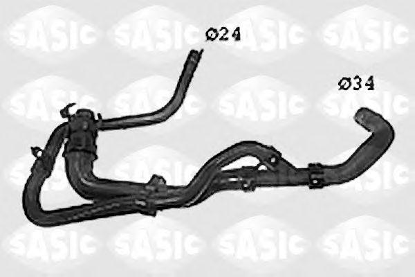 Шланг радиатора SASIC SWH0485