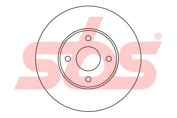 Тормозной диск sbs 1815202585