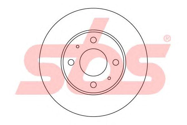 Тормозной диск sbs 1815203409