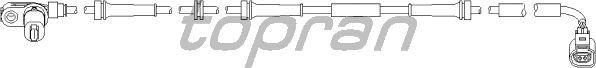 Датчик вращения колеса TOPRAN 110 491
