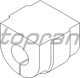 Опора, стабилизатор TOPRAN 500 327