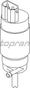 Насос омывателя фар TOPRAN 500 554