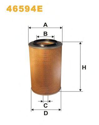 Воздушный фильтр WIX FILTERS 46594E