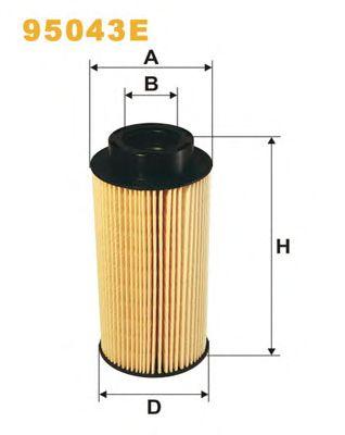 Топливный фильтр WIX FILTERS 95043E