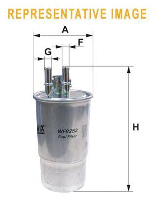 Топливный фильтр WIX FILTERS WF8408