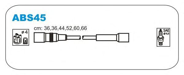 Комплект высоковольтных проводов JANMOR ABS45