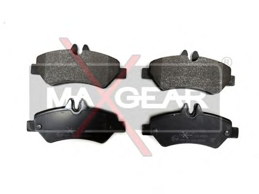 Тормозные колодки MAXGEAR 19-0580