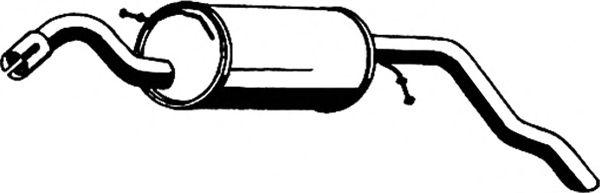 Глушитель ASMET 07.081