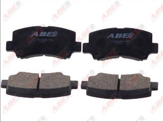 Тормозные колодки ABE C18002ABE