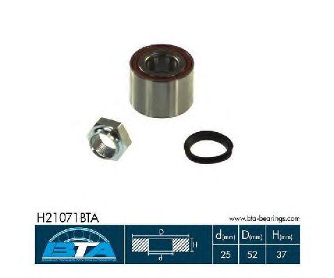 Ступичный подшипник BTA H21071BTA
