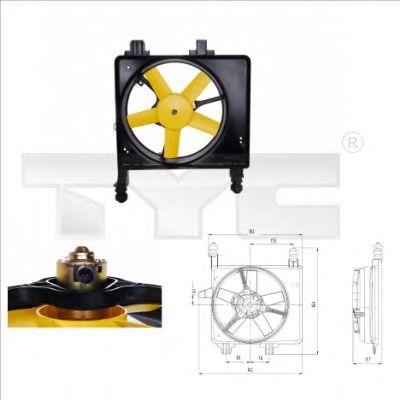 Вентилятор охлаждения TYC 810-0030