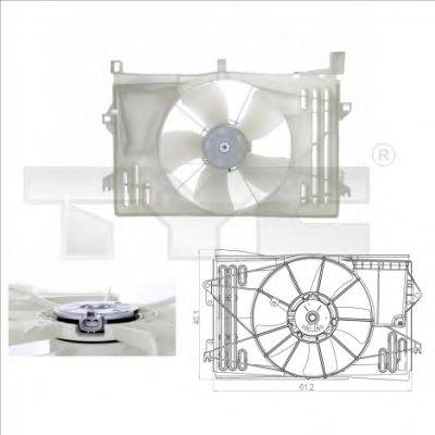 Вентилятор охлаждения TYC 836-0013