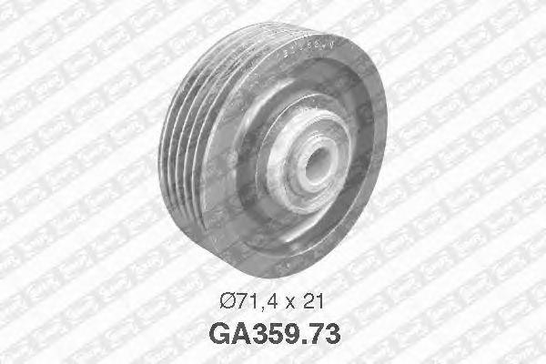 Направляющий / паразитный ролик  поликлинового ремня SNR GA359.73
