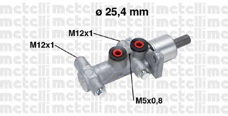 Главный тормозной цилиндр METELLI 05-0767