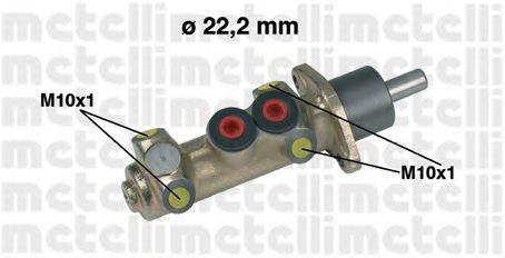 Главный тормозной цилиндр METELLI 05-0208