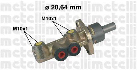 Главный тормозной цилиндр METELLI 05-0221