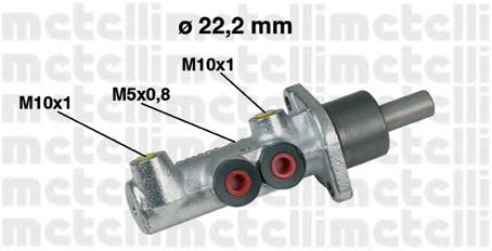 Главный тормозной цилиндр METELLI 05-0354