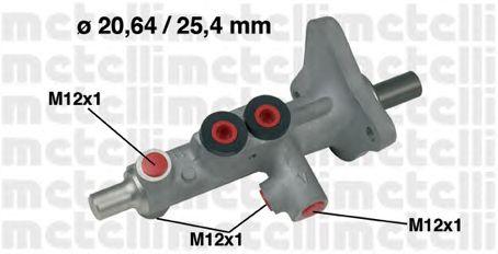Главный тормозной цилиндр METELLI 05-0628